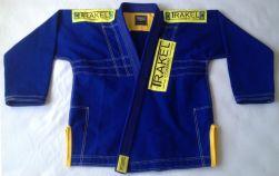 Kimono Blue + com costura amarela (patch amarelo)