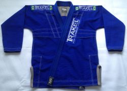 Kimono blue + com costura cinza
